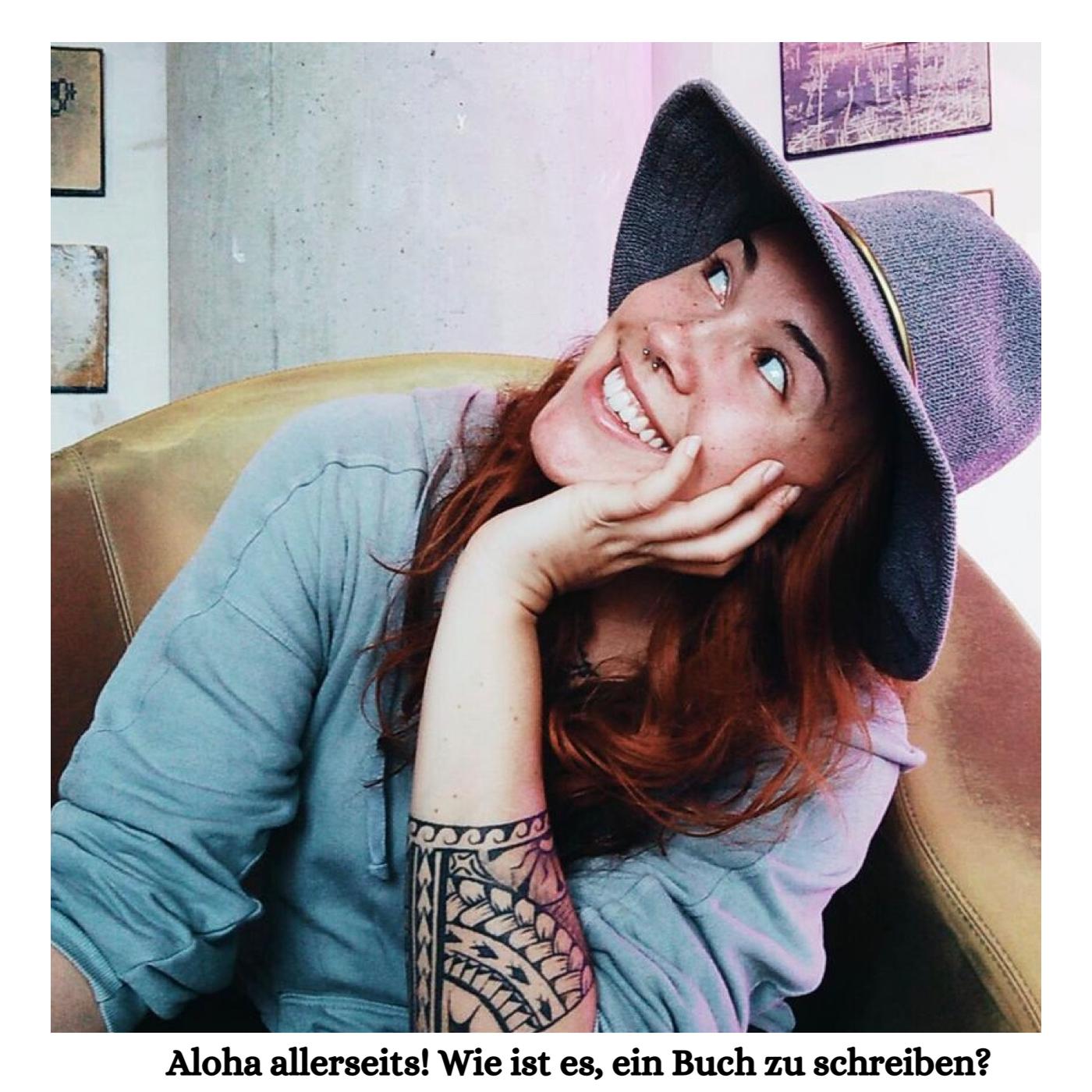 Freimachen bitte Podcast Carola Elisabeth Wie ist es ein Buch zu schreiben Aloha allerseits Pia Victoria Thiemann